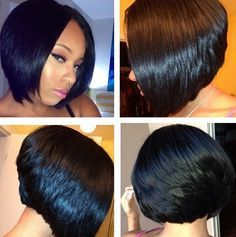Cute Bob That Hair Tho!! Pinterest Bobs Ps <br > And Love This