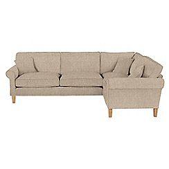 delta sofa debenhams copenhagen sectional textured right hand facing corner s