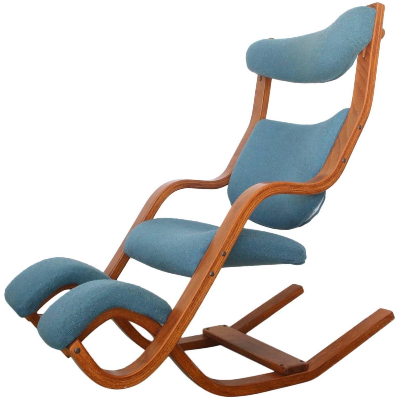 stokke gravity balans chair jens risom by peter opsvik modern chairs
