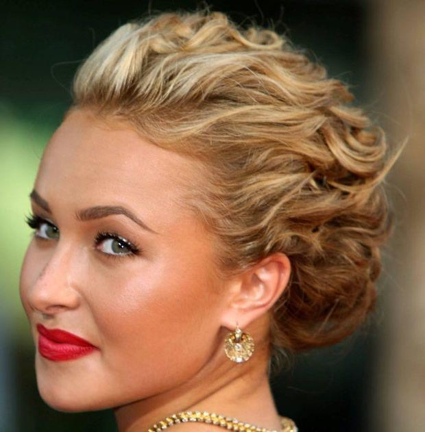 Hochsteckfrisuren Für Mittellanges Haar Frisuren Mittellang
