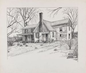 pencil drawings drawing houses sketches easy nature landscape sketch draw modern historic architecture pen