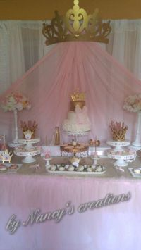 Princess Baby Shower Party Ideas   Princess baby showers ...