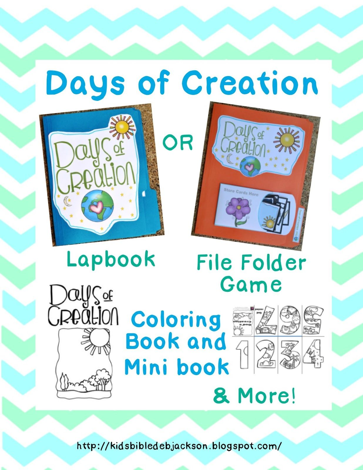 Great Printables To Learn About Days Of Creation