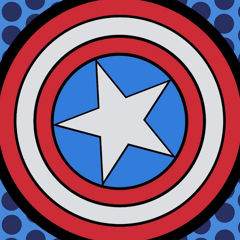 Captain America Svg Shirt
