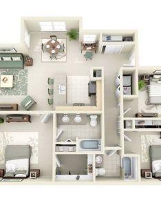 bedroom apartment house plans home decorating guru also architectureanddesign     pinterest rh