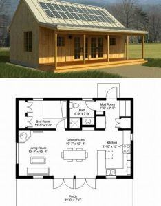 Love the solar panels not floor plan also diy pole barns rh pinterest