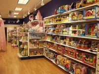 Handy Store Fixtures Wall Unit Display for a toy store ...