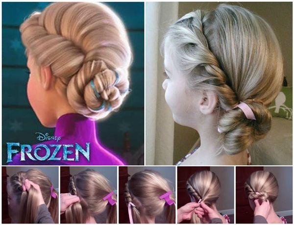 Wonderful DIY Disney Frozen Coronation Hairstyle Drooling