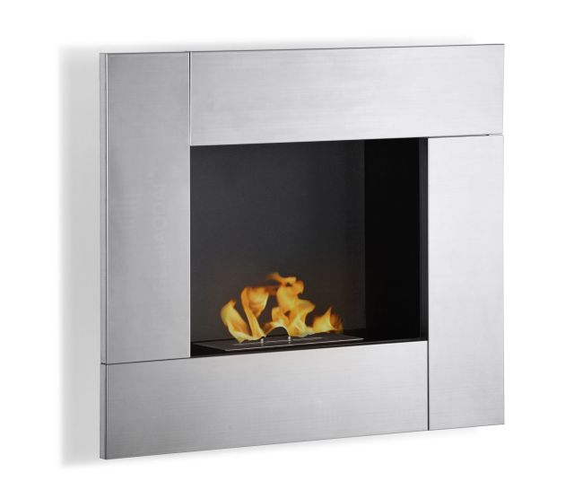 fireplace option $600 finish: stainless steel fireplaces function