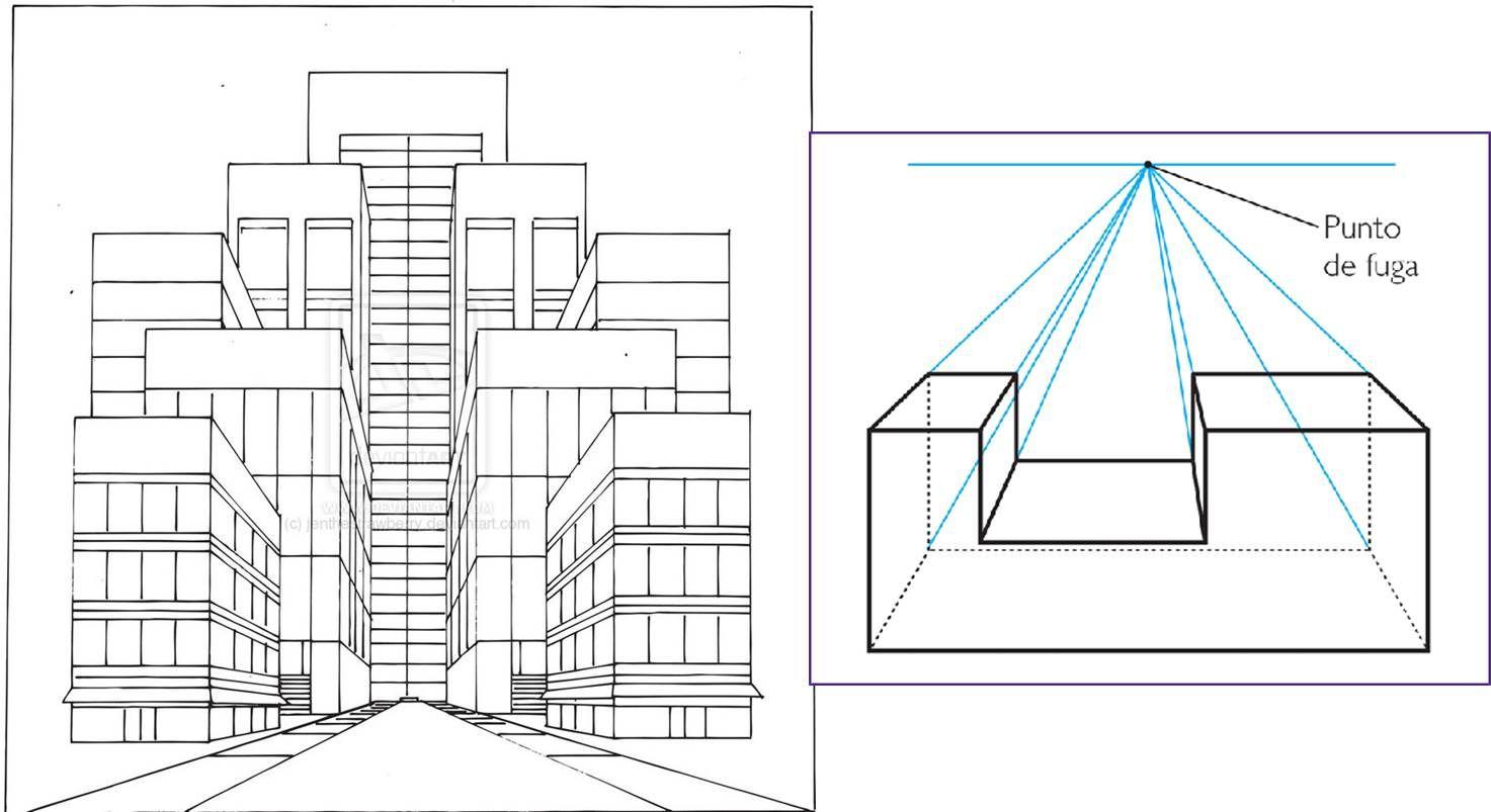 Edificios En Perspectiva Oblicua