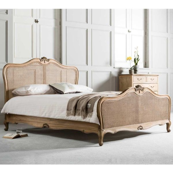 Montgomery Rattan Bed King Bedrooms And Size