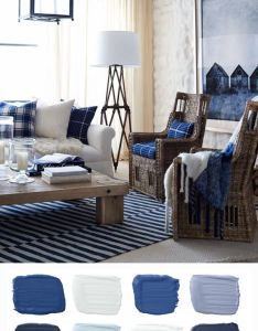 ralph lauren paint palette inspired by the rich indigos and warm creams of winter nautical bedroom decorpaint also rh pinterest