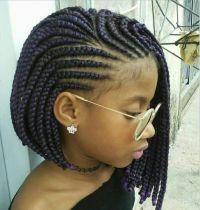 Platted | Large box braids | Pinterest | Black girls ...