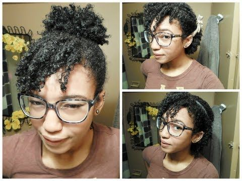 3 Quick & Easy Hairstyles !! Short Natural Hair Natural Hair
