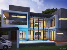 Modern 2 Story Contemporary House Plans