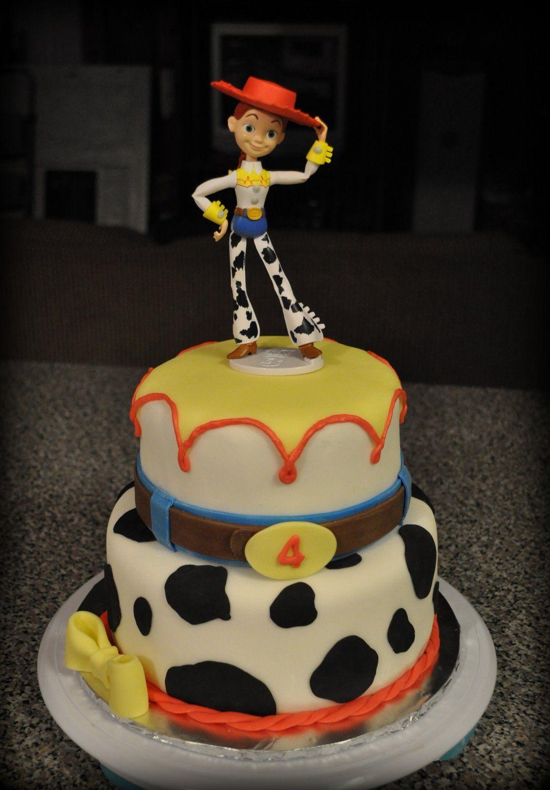 Birthday Jessie Cake Disney