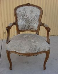 French Antique Louis XV Armchair Antique Furniture Antique ...