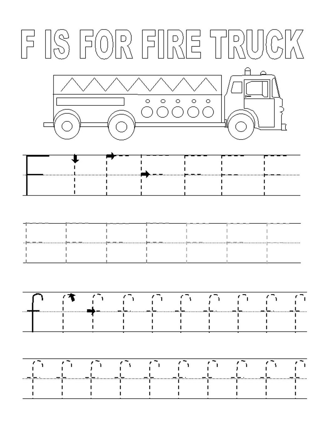 Alphabet Tracing Printables For Kids