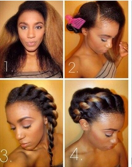 Simple And Cute Protective Style Blackhairinformation