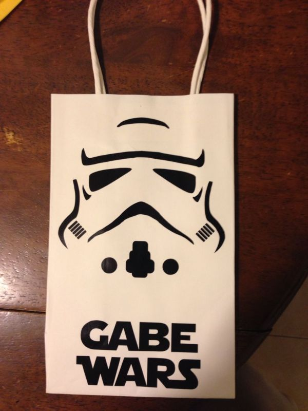 Stars Wars Birthday Party Gift Bags