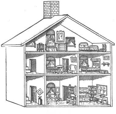 Dollhouse Plans for whenever I am able to do my own