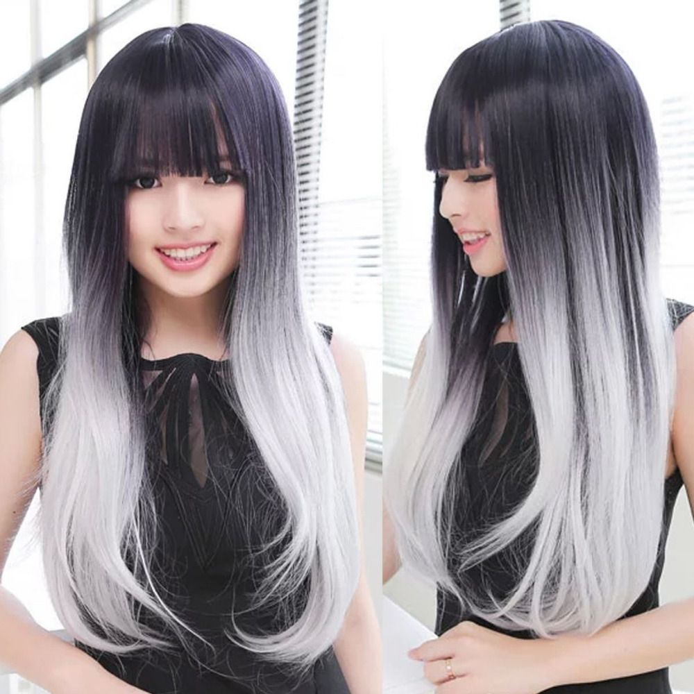 Compare Prices On Long Grey Hair Online Shopping Buy Low Price
