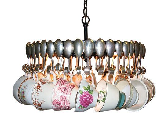 How To Make A Teacup Chandelier Diy