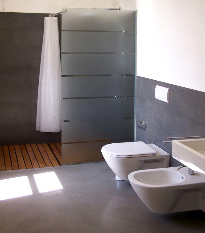 Rivestimento in resina di un bagno  Pavimenti in resina  Pinterest  Bath and Interiors