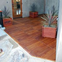 Snap Together Outside Curupay Deck Tiles Eco Decks ...