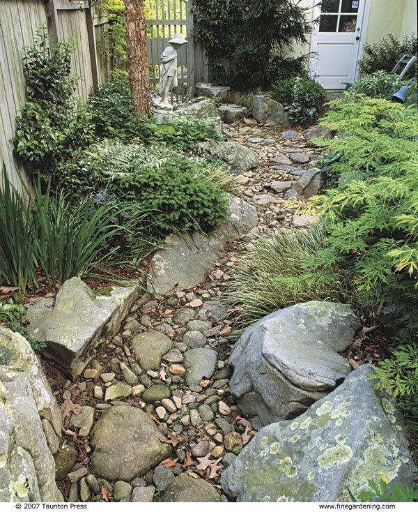 DIY Dry Creek Bed Designs And Projects Page 5 Of 10 Gardens
