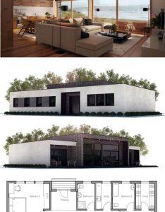 House plan modern architecture not  shipping container structure also casa moderna planta de projeto napady do domu rh pinterest