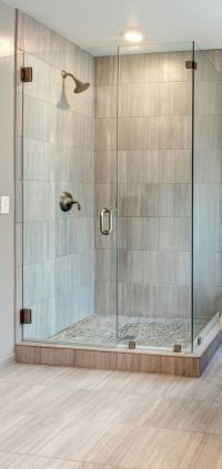 Showers : Corner Walk In Shower Ideas For Simple Small ...