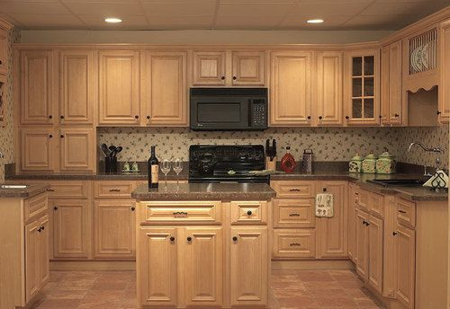 Natural Maple Kitchen Cabinets natural maple cabinet