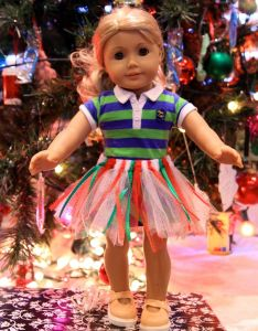 No sewing machine needed easy home made american girl doll tutu also mom show this to dad looks build kids pinterest rh