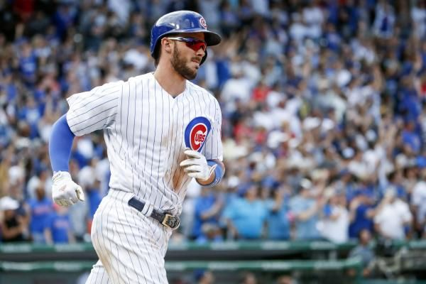 Chicago Cubs Third Baseman Kris Bryant Leaves Game In First With