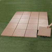 Create an instant patio-on any grass, dirt or sand surface ...