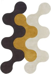 Flammes-Dfeu 4 Rug from the Shapes Irregular and Odd Rugs ...