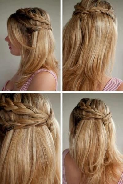How To Do Simple And Cute Hairstyles Beauty Tips Pinterest 3