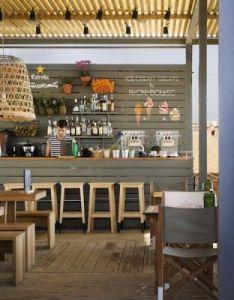 Commercial design also la guingueta beachside bar barcelona beach bars rh pinterest