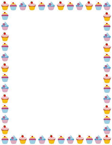 cupcakes clipart border x3cbx3ecupcakex3c bx3e