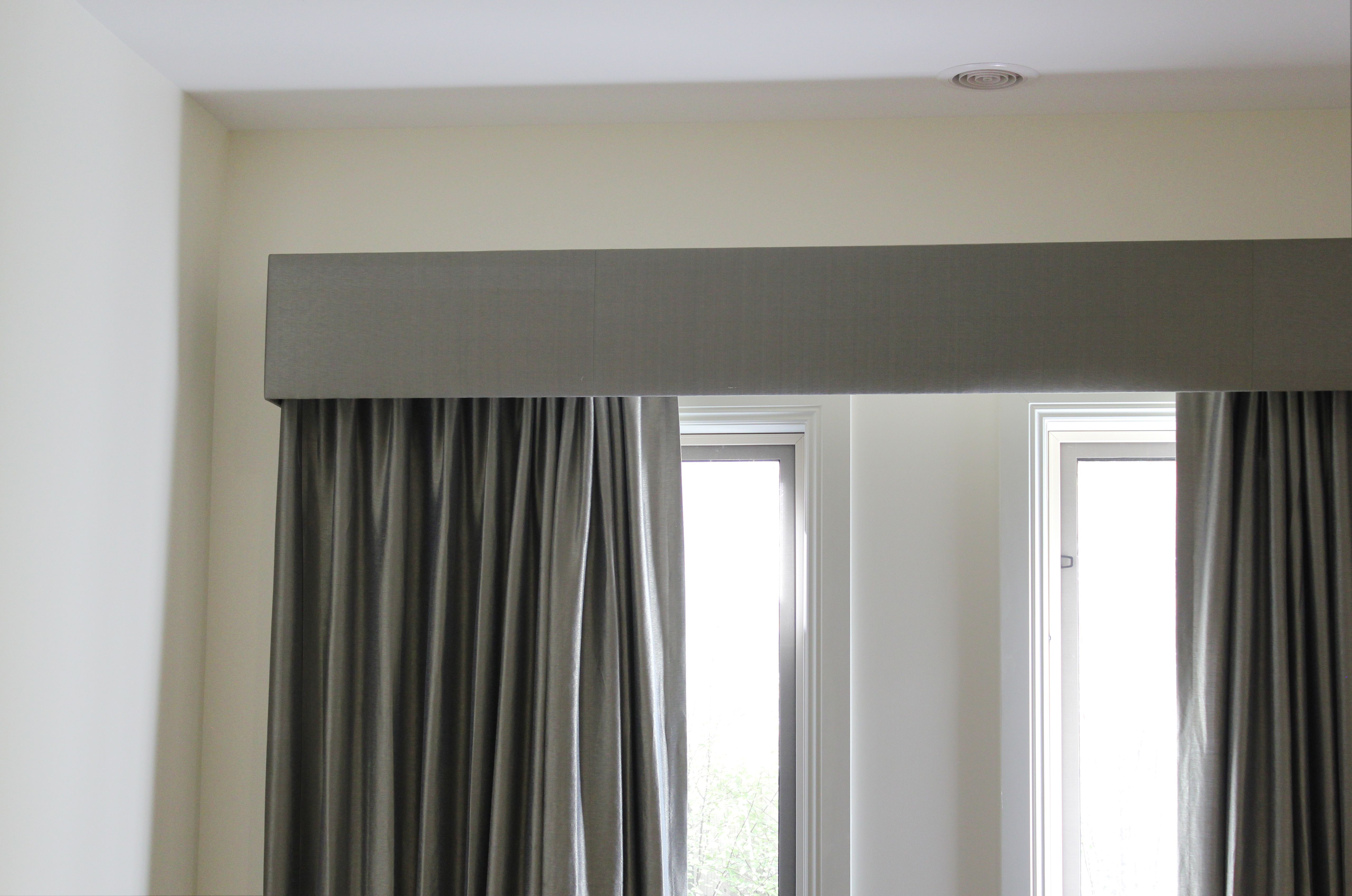 Silk Fabric Curtains With Voile Sheers And Contrast