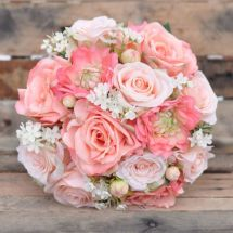 Holly' Wedding Flowers Llc Summer Bouquets Wax