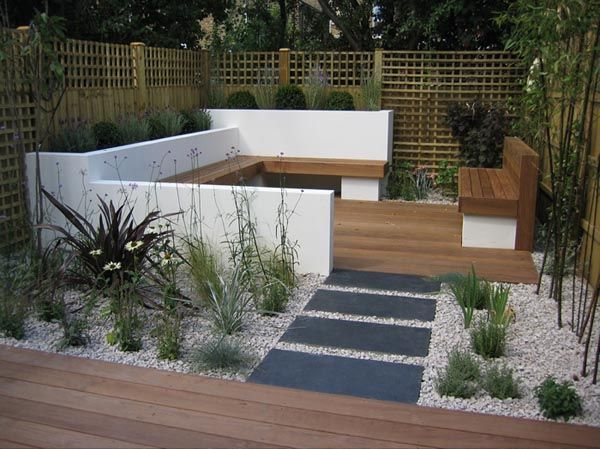 Small Modern Garden Ideas Small Garden Design And Layout Tips