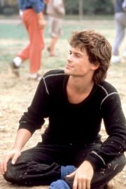rob lowe in st. elmo's fire 1985
