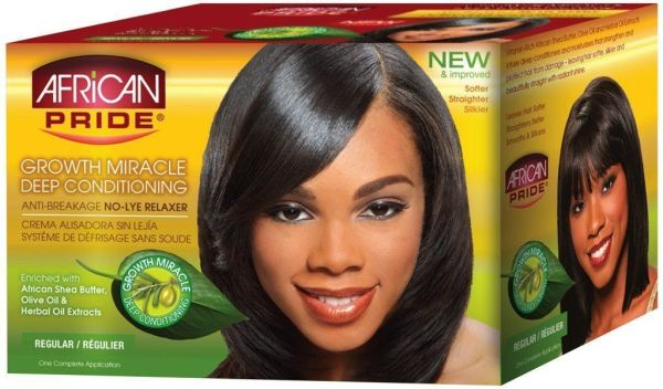 African Pride Olive Miracle Deep Conditioning NoLye