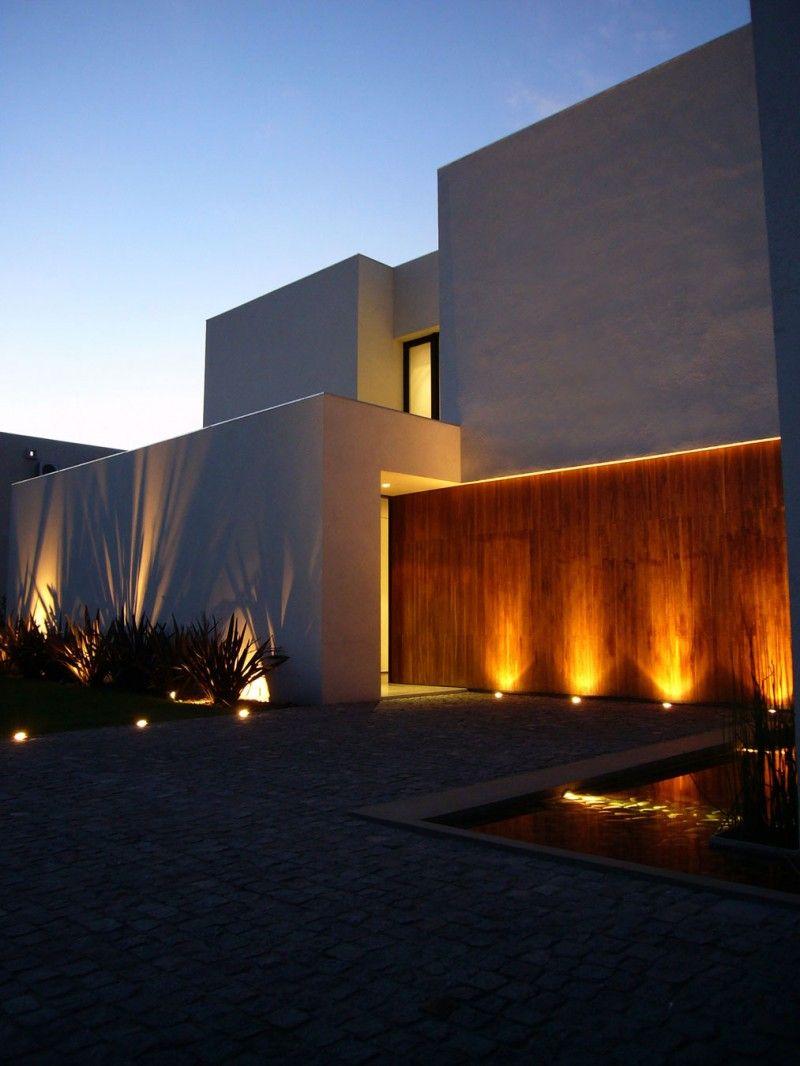 Casa BR by KLM Arquitectos  Iluminacin de fachada La