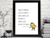 Dr. Seuss - The Lorax Quotes Printable - Dr. Seuss - Lorax ...
