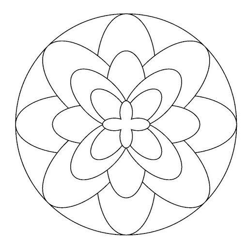 Maestra de Infantil: Mandalas para colorear. Mandalas de