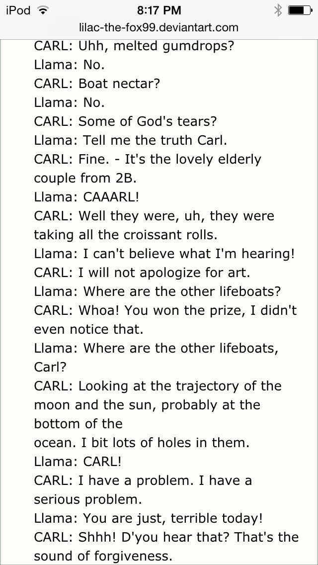 And Carl Paul Llamas Hats