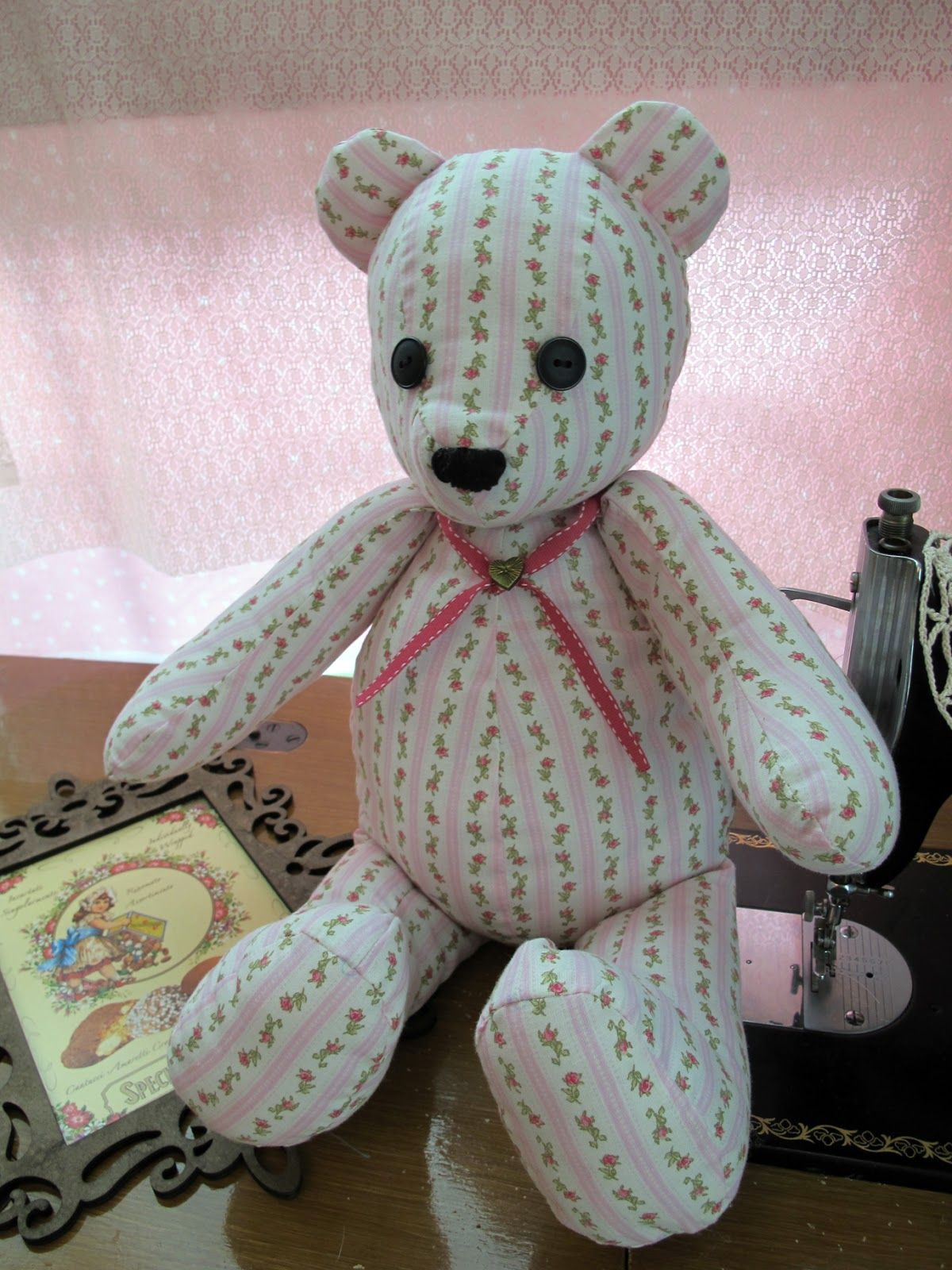 Stuffed 5461 Pattern Bear Simplicity
